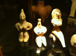 Ancient Carvings of the Goddess
