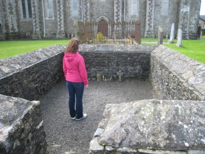 Site of St. Brigid's Flame, Kildare, Ireland